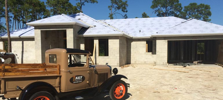 New Home Construction in Naples, Florida