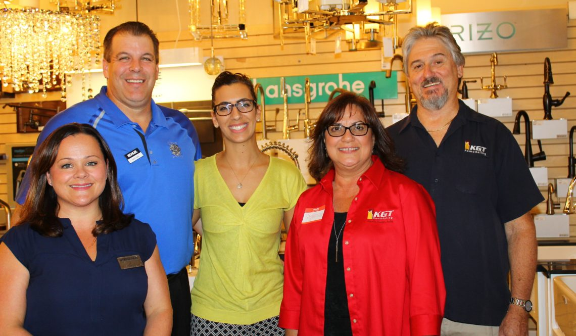 "KGT Remodeling hosted a free ""Wine and Design"" event"